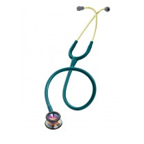 3M Littmann Classic II Paediatric Stethoscope: Rainbow Finish Caribbean Blue 2153