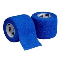 3M Coban Self-Adherent Bandage - Blue - 7.5cm x 4.5m x 24